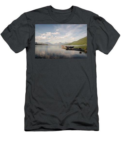 Lake Mcdonald Men's T-Shirt (Athletic Fit)