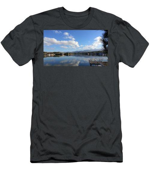 Lake Mission Viejo Cloud Reflections Men's T-Shirt (Athletic Fit)