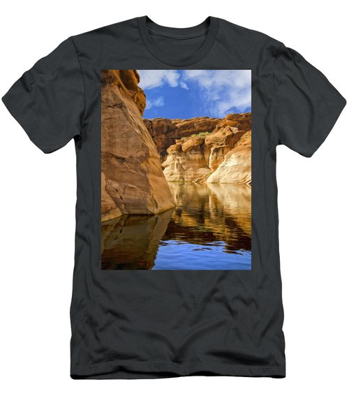 Lake Powell Stillness Men's T-Shirt (Athletic Fit)