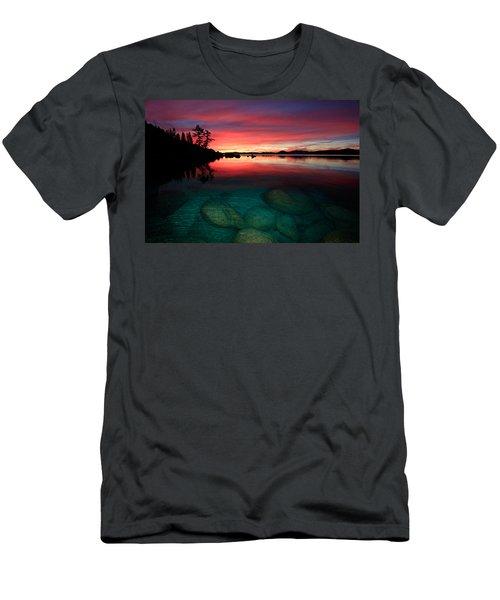 Lake Tahoe Jewels Men's T-Shirt (Athletic Fit)