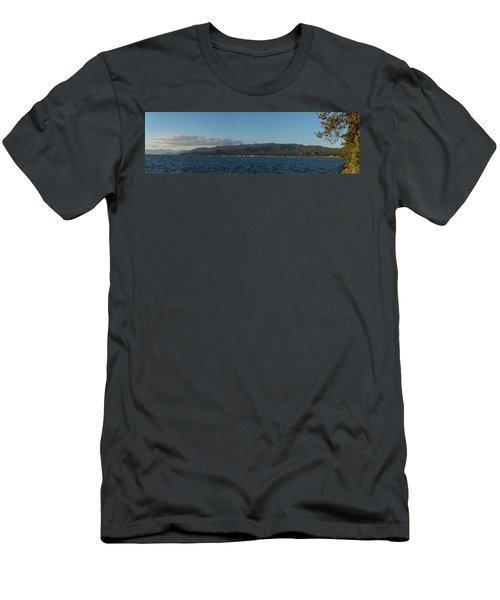 Lake Tahoe Panorama Men's T-Shirt (Athletic Fit)