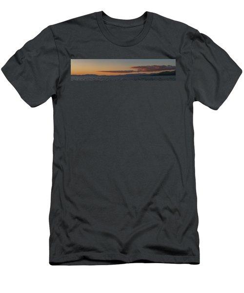 Lake Tahoe South Shore Panorama - 1 Men's T-Shirt (Athletic Fit)