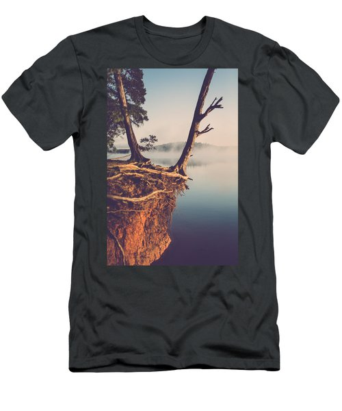 Lakeside Cliff Men's T-Shirt (Athletic Fit)