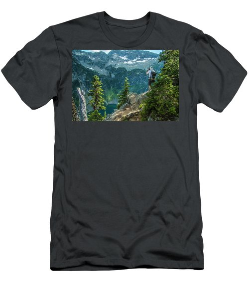 Lakeside View Men's T-Shirt (Athletic Fit)