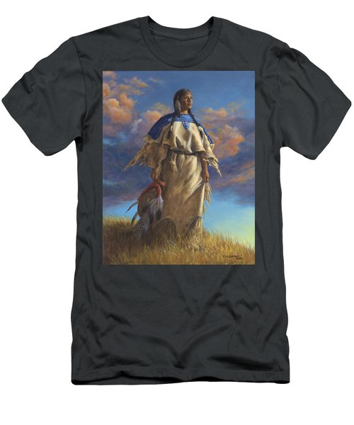 Lakota Woman Men's T-Shirt (Athletic Fit)