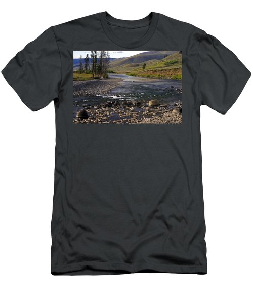 Lamar Valley 3 Men's T-Shirt (Athletic Fit)