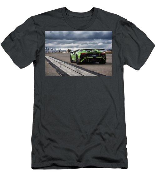 #lamborghini #aventadorsv #superveloce #roadster Men's T-Shirt (Athletic Fit)