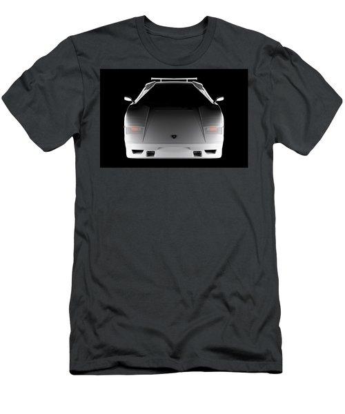 Lamborghini Countach 5000 Qv 25th Anniversary - Front View  Men's T-Shirt (Athletic Fit)