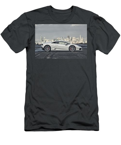Lamborghini Huracan Men's T-Shirt (Athletic Fit)