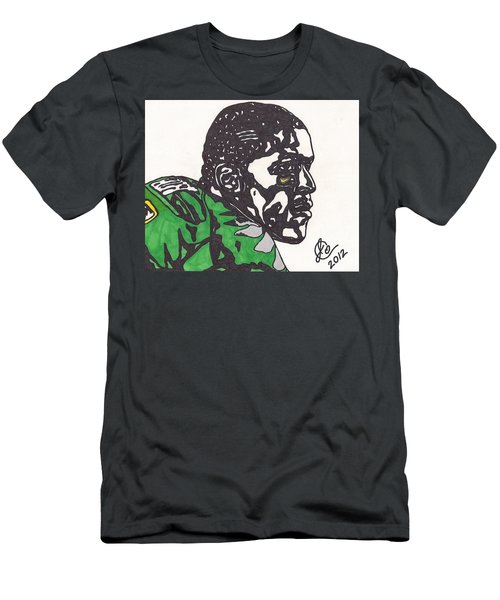 Men's T-Shirt (Slim Fit) featuring the drawing Lamicheal James 2 by Jeremiah Colley