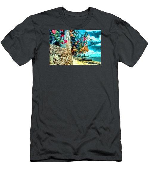 Lamu Beach Men's T-Shirt (Athletic Fit)