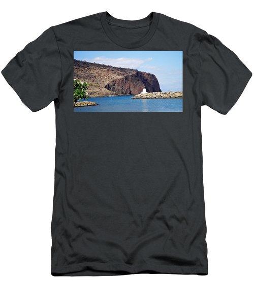 Lanai Harbor Men's T-Shirt (Athletic Fit)
