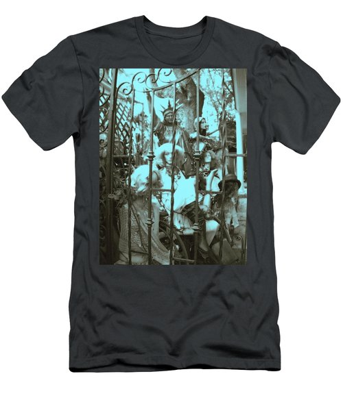 Men's T-Shirt (Slim Fit) featuring the photograph America Land Of The Free by Susan Carella