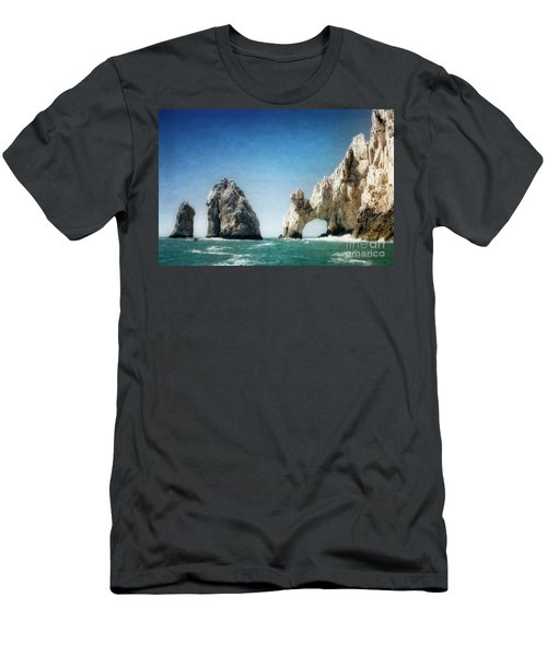 Men's T-Shirt (Athletic Fit) featuring the photograph Lands End by Scott Kemper