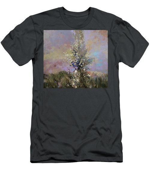 Landscape . I Was Lucky Today. Men's T-Shirt (Athletic Fit)