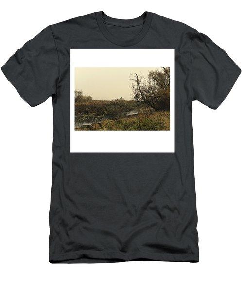 #landscape #stausee #mothernature #tree Men's T-Shirt (Athletic Fit)
