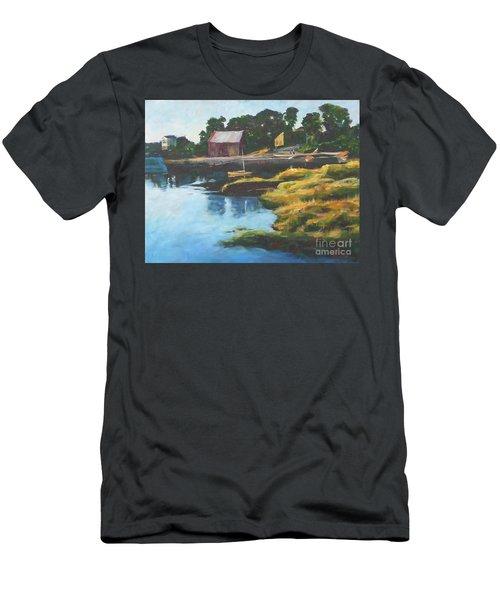 Lane's Cove Sunset Men's T-Shirt (Athletic Fit)