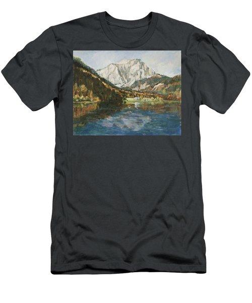 Langbathsee Austria Men's T-Shirt (Athletic Fit)