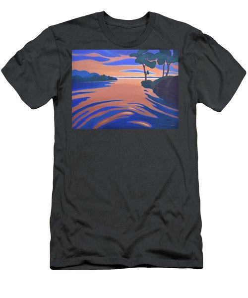 Languid Evening Men's T-Shirt (Athletic Fit)