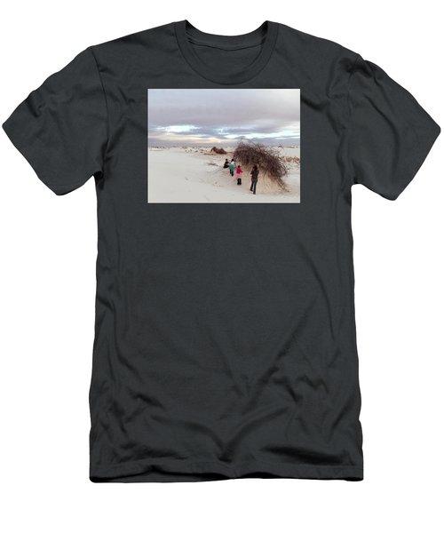 Exploring The Dunes Men's T-Shirt (Athletic Fit)