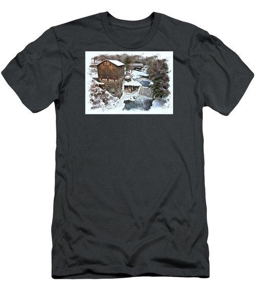 Lanterman's Mill  Men's T-Shirt (Athletic Fit)