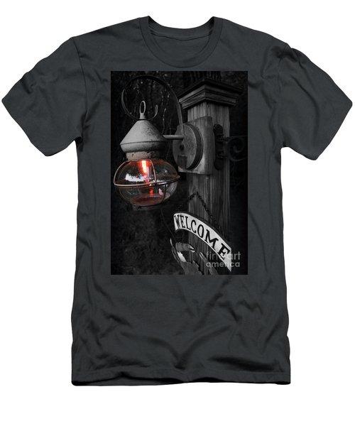 Men's T-Shirt (Slim Fit) featuring the photograph Lantern by Brian Jones
