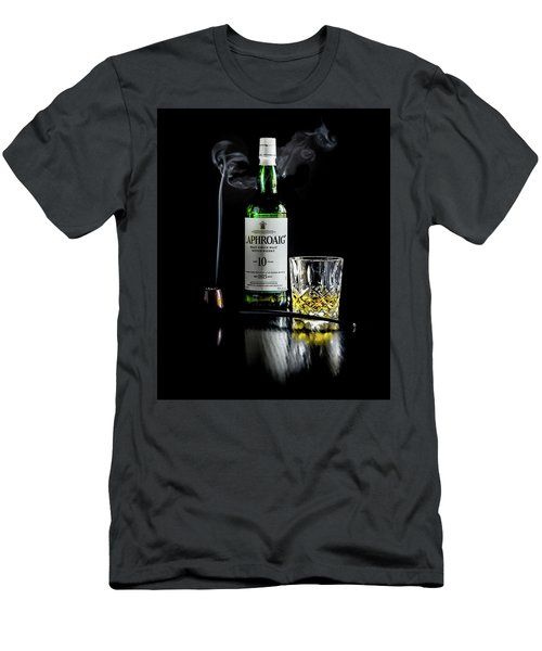 Whiskey And Smoke Men's T-Shirt (Athletic Fit)