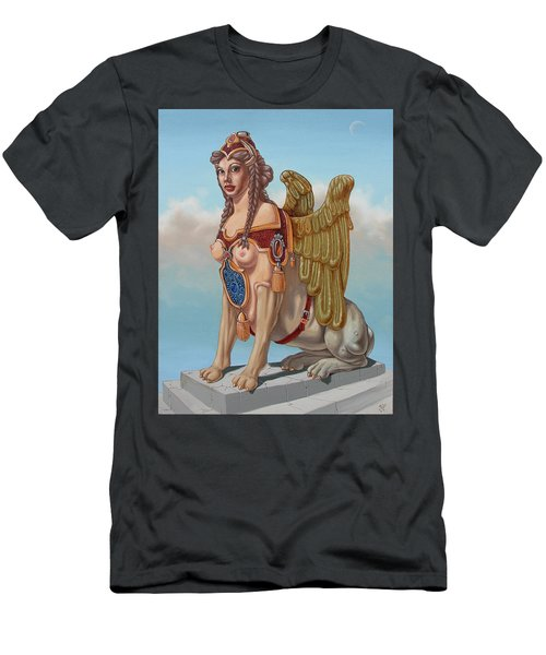 Large Sphinx Of The Vienna Belvedere Men's T-Shirt (Athletic Fit)