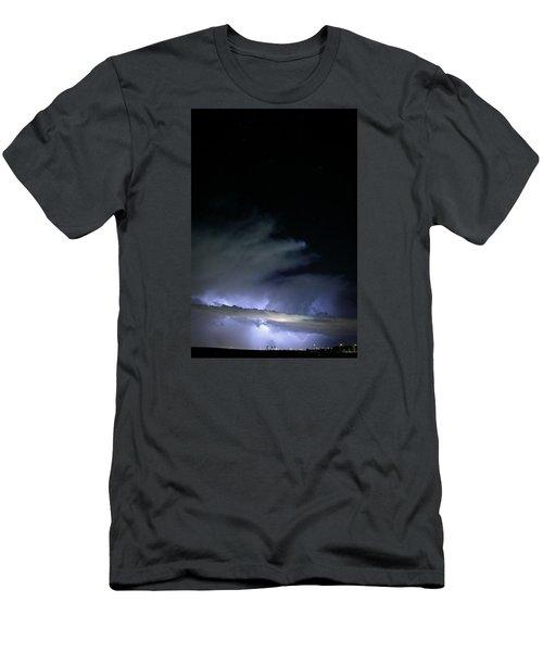 Las Vegas Lightning Men's T-Shirt (Athletic Fit)
