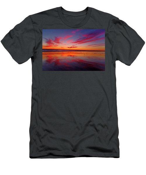 Last Light Topsail Beach Men's T-Shirt (Athletic Fit)
