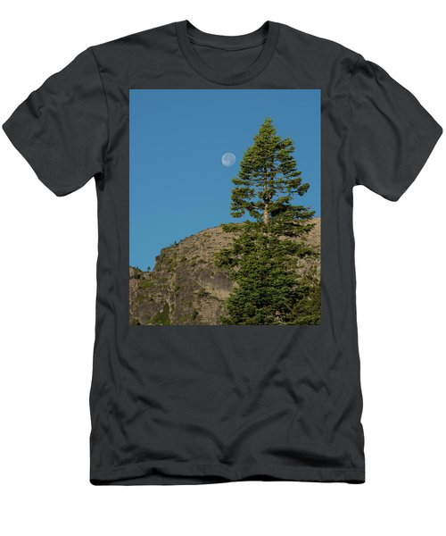 Last Moments Of A Full Moon Men's T-Shirt (Athletic Fit)