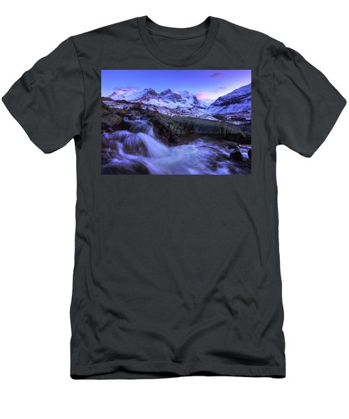 Last Rays On Andromeda Men's T-Shirt (Slim Fit) by Dan Jurak
