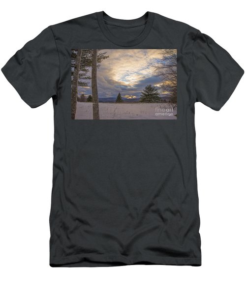 Last Sunset Of 2015 Men's T-Shirt (Athletic Fit)