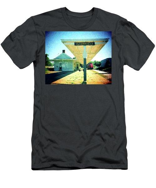 Last Train To Clarksville Men's T-Shirt (Athletic Fit)