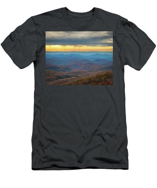 Late Autumn Vista Men's T-Shirt (Athletic Fit)