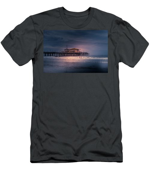 Late Evening Swim Men's T-Shirt (Athletic Fit)