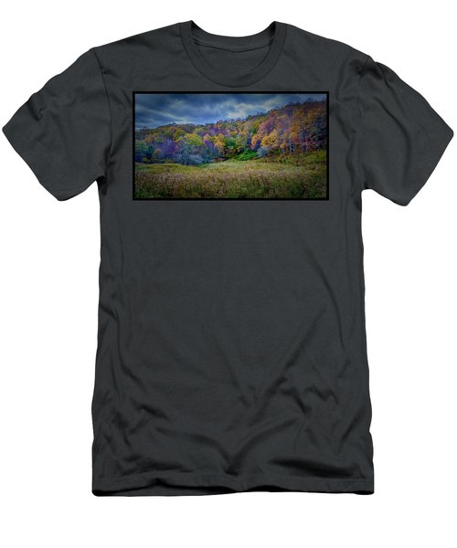 Late Fall On Green Knob Trail Men's T-Shirt (Slim Fit)