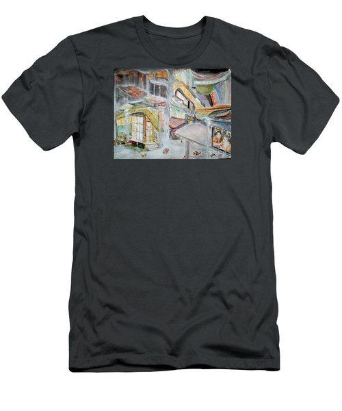 The Infamous City Corner At Midnight Men's T-Shirt (Athletic Fit)