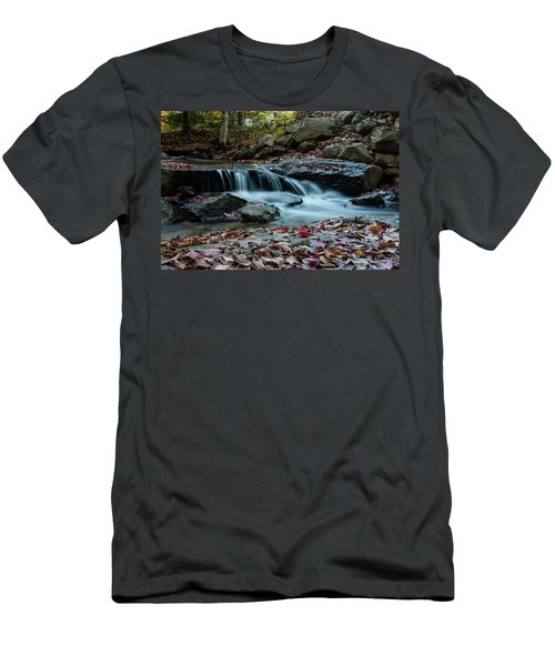 Late October Morning At Coxing Kill Men's T-Shirt (Athletic Fit)