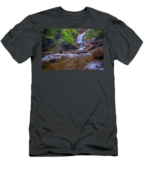 Late Summer At Kaaterskill Falls Men's T-Shirt (Athletic Fit)