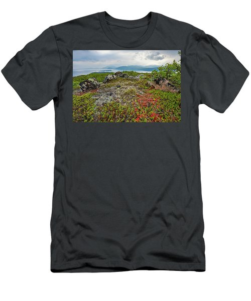 Late Summer In The North Men's T-Shirt (Slim Fit) by Maciej Markiewicz