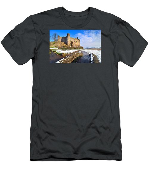 Laugharne Castle 2 Men's T-Shirt (Athletic Fit)