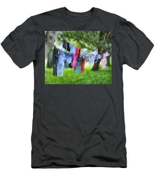 Laundry Line Men's T-Shirt (Athletic Fit)