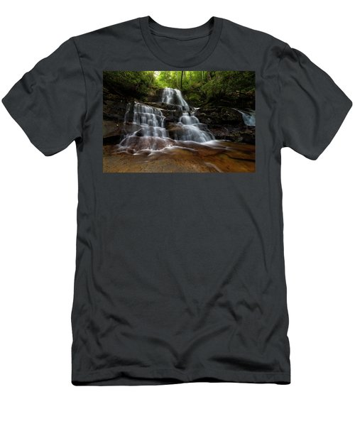 Laurel Falls Great Smoky Mountains Tennessee Men's T-Shirt (Athletic Fit)