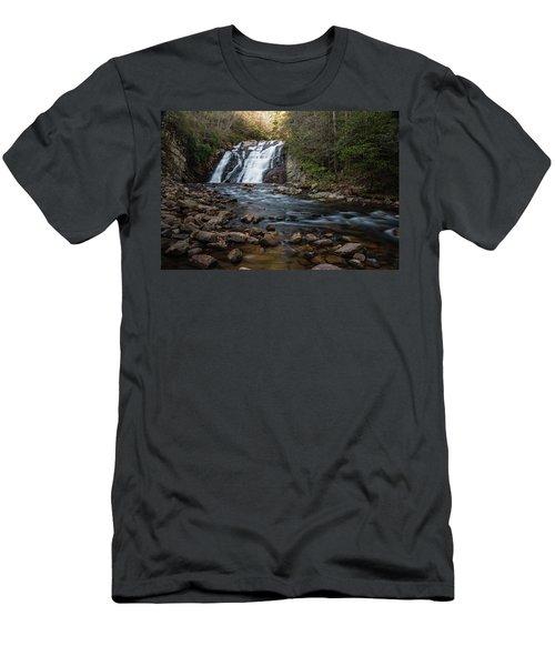 Laurel Falls In Autumn #1 Men's T-Shirt (Athletic Fit)