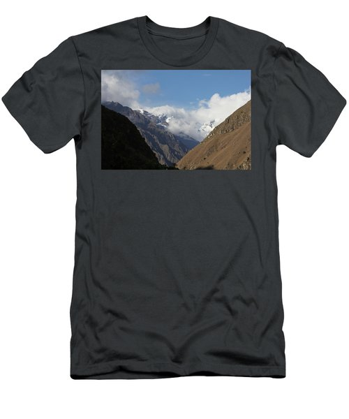Layers Of Mountains Men's T-Shirt (Athletic Fit)