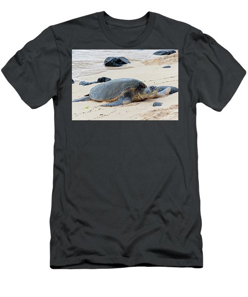 Lazy Day At The Beach Men's T-Shirt (Athletic Fit)
