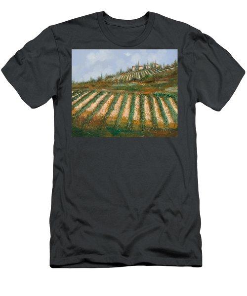 Le Case Nella Vigna Men's T-Shirt (Athletic Fit)