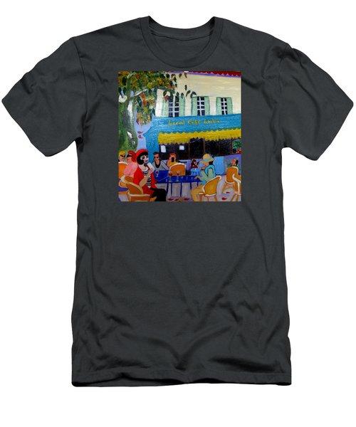 Le Grand Cafe Riche Men's T-Shirt (Athletic Fit)