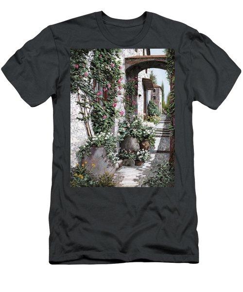 Le Rose Rampicanti Men's T-Shirt (Athletic Fit)